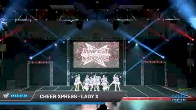 Cheer Xpress - LADY X [2021 L6 Senior - Small Day 2] 2021 JAMfest Cheer Super Nationals