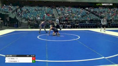 157 lbs Round of 16 - Hayden Hidlay, NC State vs Parker Simington, Air Force