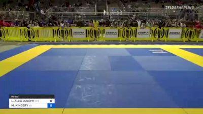 LANDRIE ALEX JOSEPH vs MICAH KINGERY 2021 Pan Kids Jiu-Jitsu IBJJF Championship