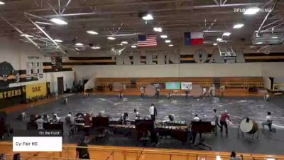 Cy-Fair HS at 2021 TCGC Percussion Finale - East