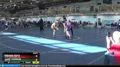 180 lbs Round 1 (4 Team) - Breanna Peach, Killer Cheese Curds vs Gabby Chandler, Ohio