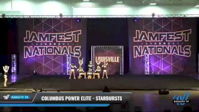 Columbus Power Elite - Starbursts [2021 L4 Senior - Small Day 2] 2021 JAMfest: Louisville Championship