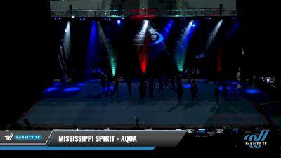 Mississippi Spirit - Aqua [2021 L3 Junior - Small Day 1] 2021 The U.S. Finals: Pensacola