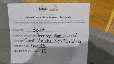 Pennridge High School [Small Varsity - Non Tumble] 2020 UCA Allegheny Virtual Regional