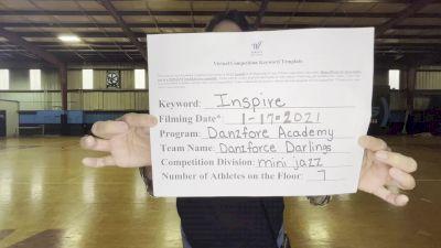 DanzForce Academy - DanzForce Academy - Darlings [Mini - Jazz] 2021 GSSA DI & DII Virtual Championship