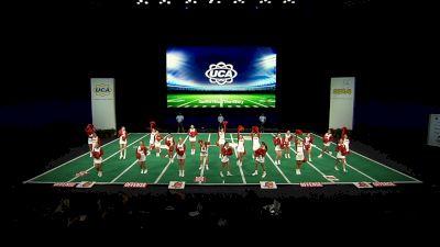 Sacred Heart University [2021 Open All Girl Game Day Semis] 2021 UCA & UDA College Cheerleading & Dance Team National Championship