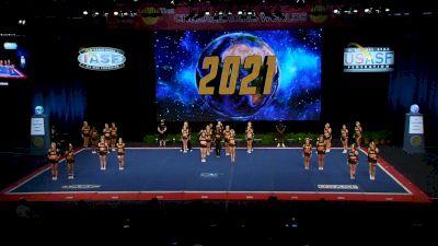 ACE Cheer Company - BHM - Warriors [2021 L6 Senior Medium Coed Finals] 2021 The Cheerleading Worlds
