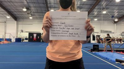Excite Gym and Cheer - Courage [L1 Youth - Small] 2021 The Regional Summit Virtual Championships