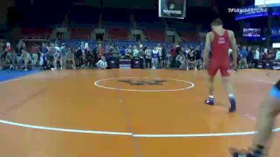 126 lbs Quarterfinal - Drake Ayala, Iowa vs Braden Basile, Florida