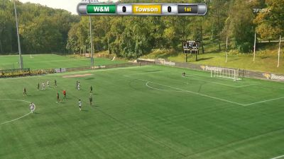Replay: William & Mary vs Towson | Oct 3 @ 1 PM