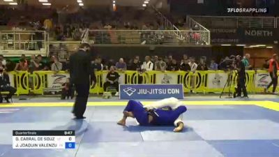 DAVI CABRAL DE SOUZA vs JOSE JOAQUIN VALENZUELA TORRES 2021 Pan Jiu-Jitsu IBJJF Championship