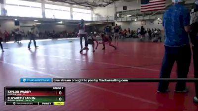 164 lbs Round 1 (4 Team) - Elizabeth Eaglin, Indiana INFERNO GOLD vs Taylor Waddy, Missouri Red