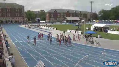 High School Girls' 4x400m Relay Class A, Finals 1