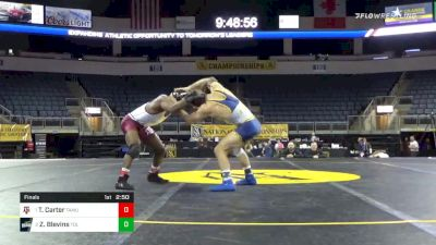 149 lbs Final - Ty'Rae Carter, Texas A&M University vs Zach Blevins, University Of Toledo