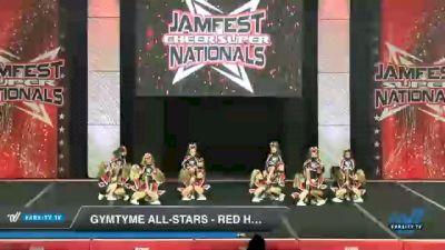 GymTyme All-Stars - Red Hots [2021 L1.1 Mini - PREP - Medium Day 1] 2021 JAMfest Cheer Super Nationals