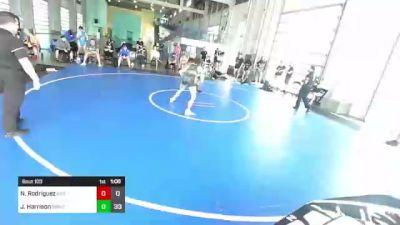145 lbs Rr Rnd 3 - Nik Rodriguez, Dirty Birds vs Jack Harrison, Rbwc