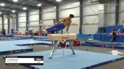 Yul Moldauer - Pommel Horse, 5280 Gymnastics - 2021 April Men's Senior National Team Camp