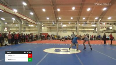 Quarterfinal - Drew Peck, UVA-Unattached vs Clay Ream, Unattached