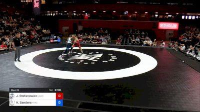 82 kg 2 Of 3 - John Stefanowicz, U.S. Marine Corps vs Kendrick Sanders, New York Athletic Club