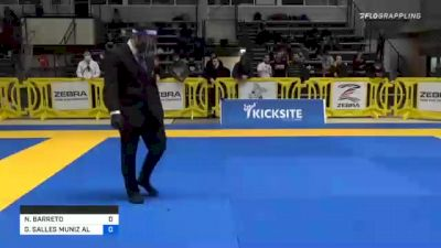 NATHAN BARRETO vs GABRIEL SALLES MUNIZ ALMEIDA 2020 American National IBJJF Jiu-Jitsu Championship