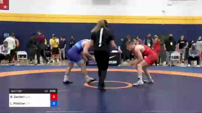 65 kg Consi Of 8 #2 - Brock Zacherl, Clarion Wrestling Club vs Luke Pletcher, Pittsburgh Wrestling Club