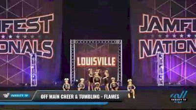Off Main Cheer & Tumbling - Flames [2021 L2 Mini - D2 Day 2] 2021 JAMfest: Louisville Championship