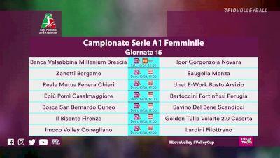 Full Replay - Volley Bergamo vs Saugella Monza - Bergamo vs Monza