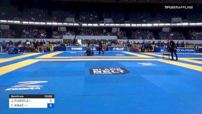 JAMES PUOPOLO vs FERNANDO RIBAS 2019 World IBJJF Jiu-Jitsu No-Gi Championship