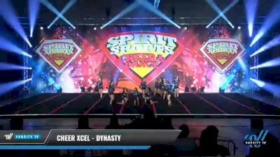 Cheer Xcel - Dynasty [2021 L1 Junior - D2 - Small Day 2] 2021 Spirit Sports: Battle at the Beach