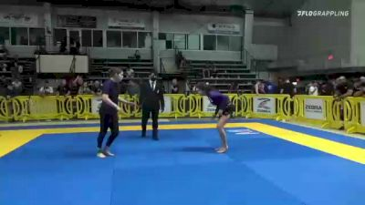 Hannah M. SternBlitz vs Emily Elizabeth Fernandez 2021 Pan IBJJF Jiu-Jitsu No-Gi Championship