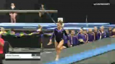 Sarah Finnegan - Vault, Louisiana State University - 2019 GymQuarters Invitational