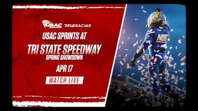 Full Replay | USAC Spring Showdown at Tri-State 4/17/21