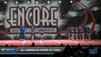 All American Cheer C5 Toxic [2021 L5 Senior Coed - D2 Day 2] 2021 Encore Championships: Charlotte Area DI & DII