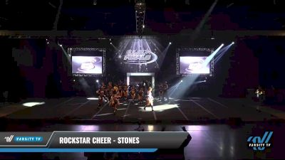 Rockstar Cheer - Stones [2021 L6 Exhibition (Cheer) Day 1] 2021 The U.S. Finals: Sevierville