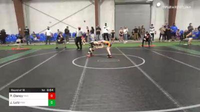 60 lbs Prelims - Parker Clancy, Pride vs Jacob Lutz, Princeton