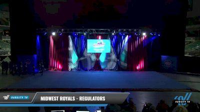 Midwest Royals - Regulators [2021 L2 Senior - D2 Day 2] 2021 The American Gateway DI & DII