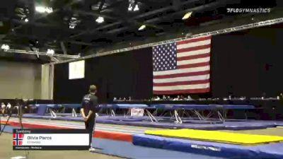 Olivia Pierce - Tumbling, Elmwood - 2021 USA Gymnastics Championships
