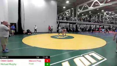 160 lbs Rr Rnd 3 - Owen Quinn, Malvern Prep vs Michael Murphy, Frost Gang/westfield