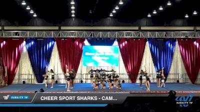 Cheer Sport Sharks - Cambridge - Zebra Sharks [2020 L3 Junior - Medium Day 1] 2020 The American Majestic DI & DII