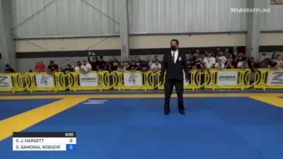 STEPHEN J. HARGETT vs DIEGO GAMONAL NOGUEIRA 2021 Pan IBJJF Jiu-Jitsu No-Gi Championship