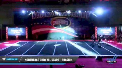 Northeast Ohio All Stars - Passion [2021 L4 Junior - Small Day 2] 2021 ACP: Midwest World Bid National Championship