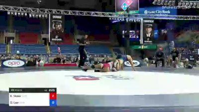 97 kg Rr Rnd 3 - Katrell Moss, Legends Of Gold vs Duncan Lee, Iowa