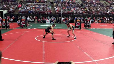 Mattin VS Hoskins D3 126 lbs Semifinal In OH Goes To OT