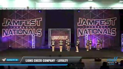 Lions Cheer Company - Loyalty [2021 L2 Senior Day 2] 2021 JAMfest: Louisville Championship