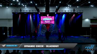 Dynamic Cheer - Blackout [2021 L3 Senior - D2 - Small Day 2] 2021 The American Spectacular DI & DII