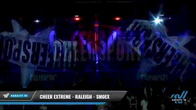 Cheer Extreme - Raleigh - Smoex [2021 L6 Senior Coed - Medium Day 2] 2021 CHEERSPORT National Cheerleading Championship
