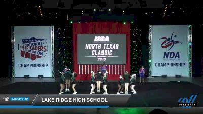 - Lake Ridge High School [2019 Small Novice High School Day 1] 2019 NCA North Texas Classic
