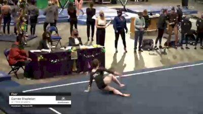 Cameo Stapleton - Floor, Air Force Academy - 2021 GymQuarters Invitational