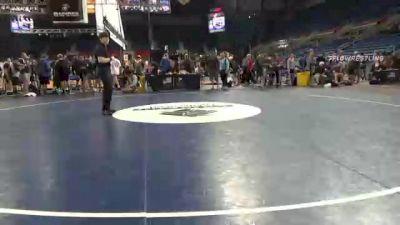 138 lbs Consi Of 16 #2 - Justin Rodriguez, California vs Evan Herriman, Michigan