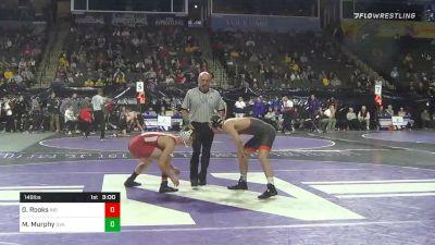 149 lbs Prelims - Graham Rooks, Indiana vs Michael Murphy, Virginia